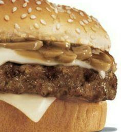 http://www.food.com/recipe/hardees-mushroom-and-swiss-burger-11789
