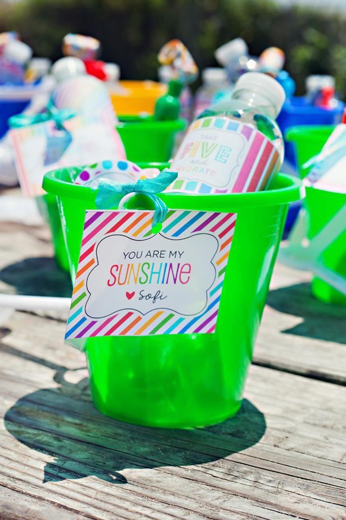 End Of Summer Vintage Beach Party Planning Ideas Supplies Idea Decor