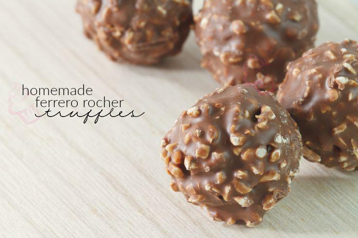 Homemade Ferrero Rocher Hazelnut Truffles on MyRecipeMagic.com