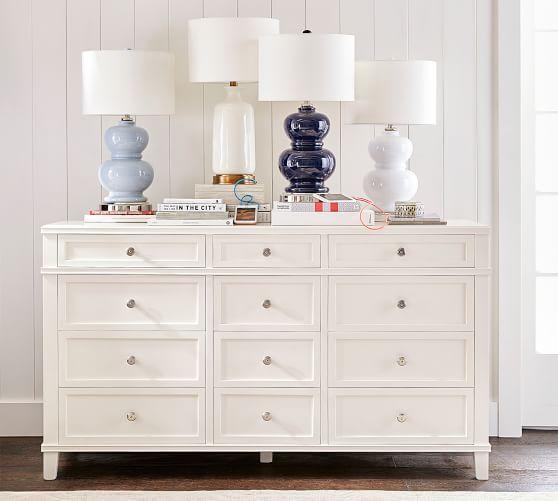 f8c1f110e29c Clara Extra Wide Dresser | Master bedroom | Extra wide dresser, Wide ...