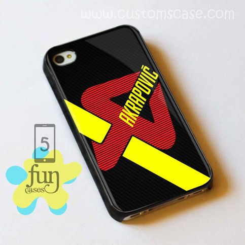 Akrapovic Exhaust logo iPhone 5 Case Cover from Funcases