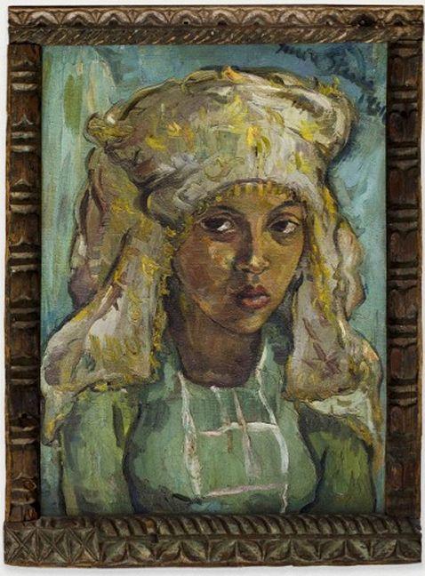 The Malay Bride, 1942 - Irma Stern