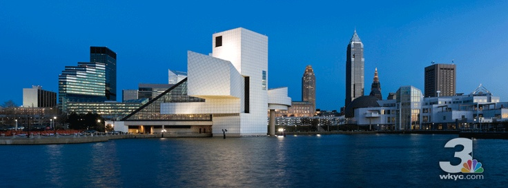 """Nothing says """"Cleveland Rocks"""" like the Rock and Roll Hall of Fame."""