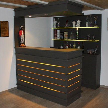 Les 25 meilleures id es de la cat gorie comptoir bar sur - Comptoir bar cuisine ...