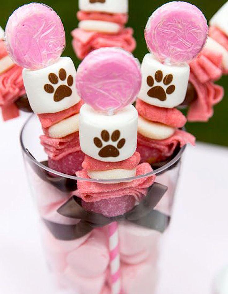 Brochette de bonbons bouquet