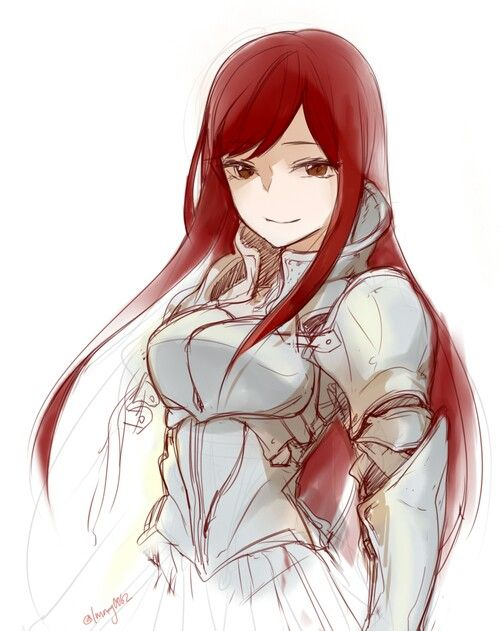 Day13: I think I am similar to Erza Scarlet. She is strong, over-protective, fearful when mad, beautiful, and Independent but loves to be with people she cares about. (Fact: I love her gift of changing clothes!)