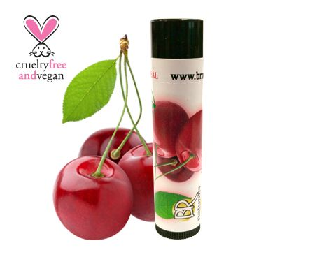NATURAL CHERRY LIP BALM  If you're a fan of anything cherry, you'll love this. Enjoy our natural version of a true classic.