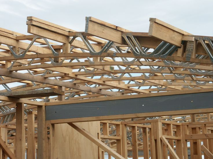 Image result for gang nail truss system for skillion roof