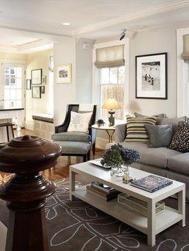 Cambridge Cottage - eclectic - living room - boston - Terrat Elms Interior Design