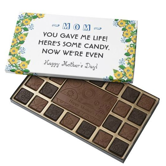 Funny Mother's Day Chocolates