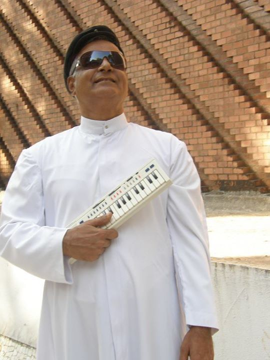 Fr. Bernard Rodrigues SVD Parish Priest of St. Theresa's Church, Bandra West.