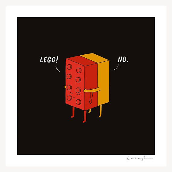 let go...: Etsy, Puns, Lego No, Awesome, Doodles, Giggles, Lego Prints, So Funny, Lego Humor