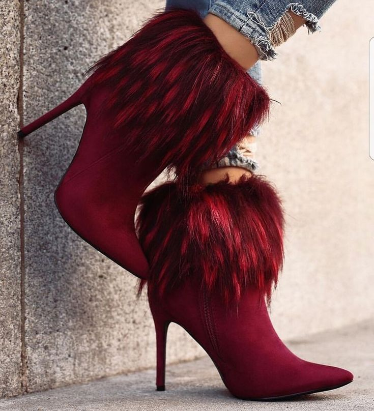 Nice red high heel Shoes