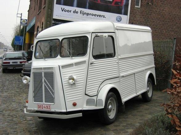 White Citroën HY