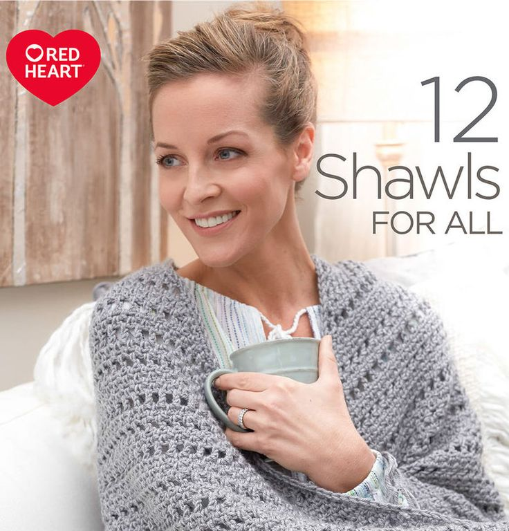 Free Shawl ebook from Red Heart with free knitting and crochet patterns for shawls, super scarves and ponchos. http://www.anrdoezrs.net/links/7729443/type/dlg/http://www.redheart.com/books/12-shawls-for-all #ad
