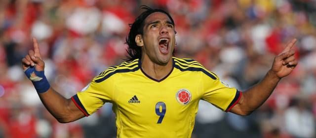 Falcao en la Victoria de Colombiano vs Chile, eliminatorias mundial Brasil 2014