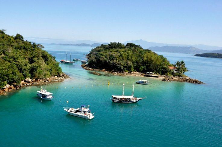 Lagoa Azul (Blue Lagoon) -  Angra dos Reis, RJ