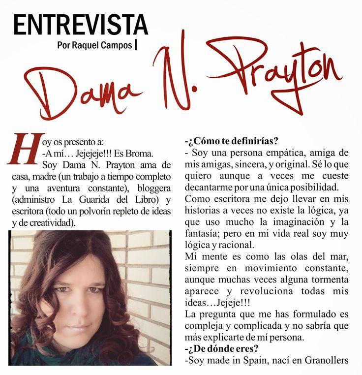 EmBLOGrium revista online en español 2014: Entrevista a Dama N. Prayton