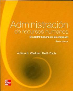 Administración de recursos humanos: n° de pedido 658.3 W499ar