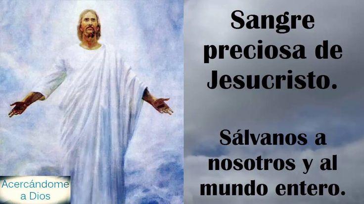 Rosario a la sangre de Cristo #AcercándomeADios – YouTube