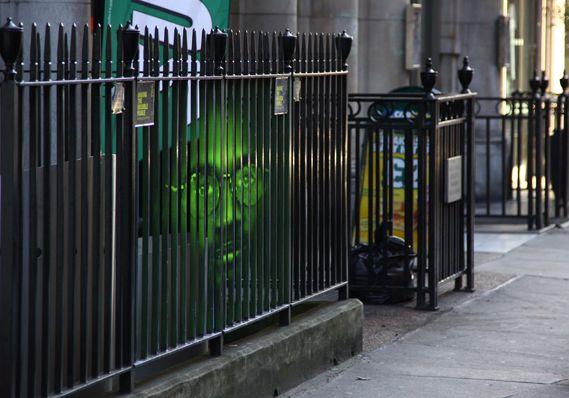 Amnesty International's Haunting Face (4 pics) - My Modern Metropolis