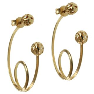 @Overstock.com - Michael Valitutti 14k Yellow Gold Earrings - These exquisite one-of-a-kind Michael Valitutti earrings are beautifully crafted of highly polished 14-karat yellow gold.  http://www.overstock.com/Jewelry-Watches/Michael-Valitutti-14k-Yellow-Gold-Earrings/8402340/product.html?CID=214117 CAD              583.27