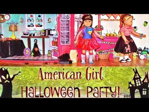 Learn how to make American Girl Doll Halloween Games. This Halloween craft is simple and fun to make. You will like this doll Halloween Party. American Girl ...