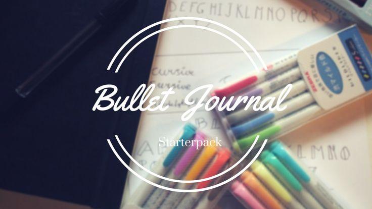 Bullet Journal Starterpack