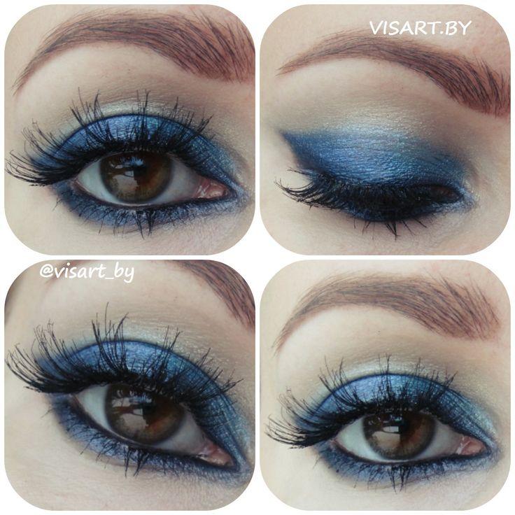 Синий макияж глаз с палеткой Sleek Glory, Ardell ресницы и черный карандаш NYX Jumbo #makeupeyes #blue #makeuplips #makeup #glamour #flawless #sleek #makeupaddict #makeupideas #makeupartist #makeupmafia #makeuplover #instamakeup #mua #ardell #bbloggers #макияжглаз #макияж #мэйкап #синиймакияж #вечерниймакияж #смокиайс #макияжминск #визаж #визажистминск #буднивизажиста #бьютиблоггер www.visart.by