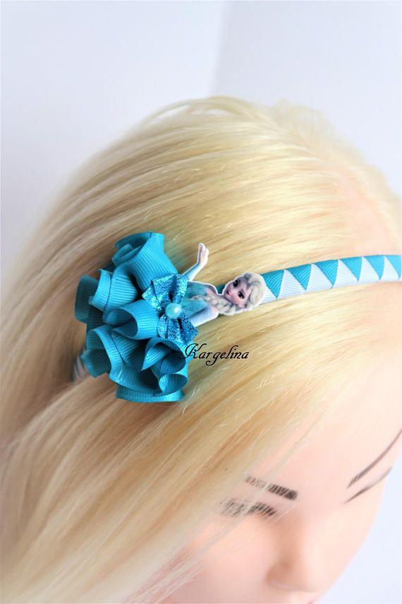 Princess Elsa Hair Clip Handmade Hair Band Crown Disney