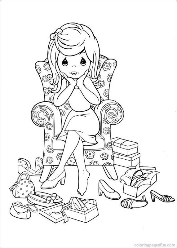 1000 Images About Precious Moment Coloring Pages On