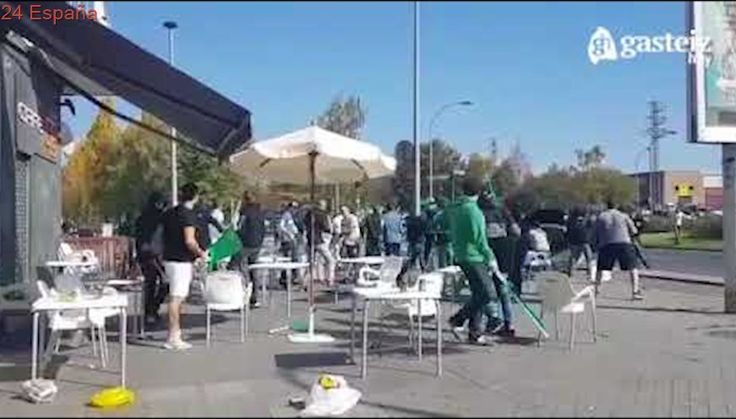 Ultras Racing de Santander vs ultras Alaves HD