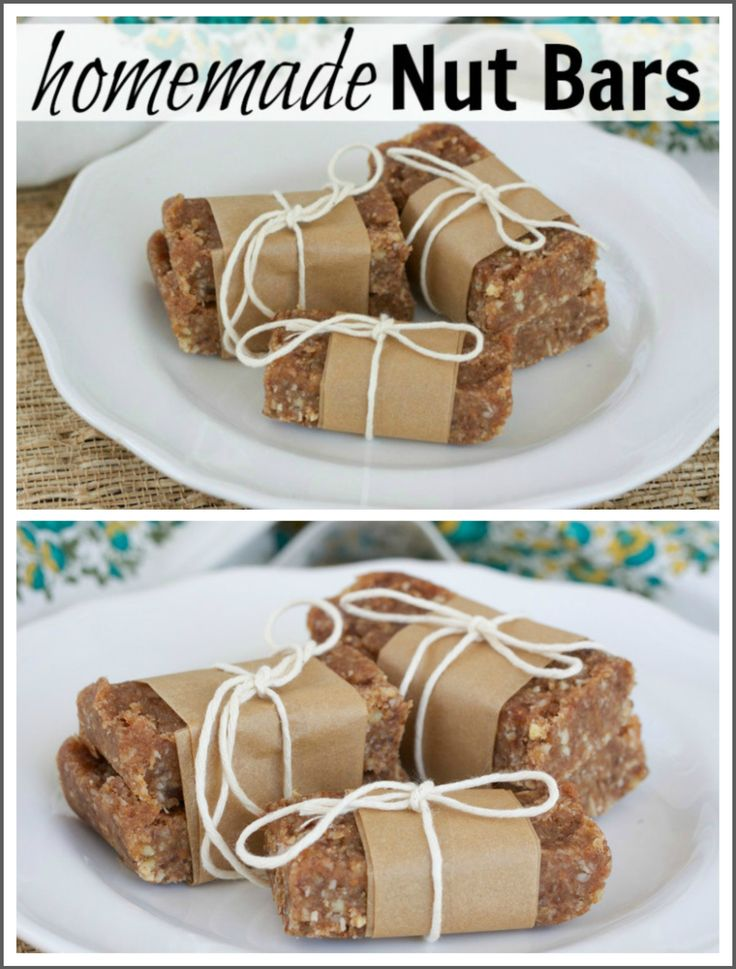 Homemade Nutty Bars Recipe — Dishmaps