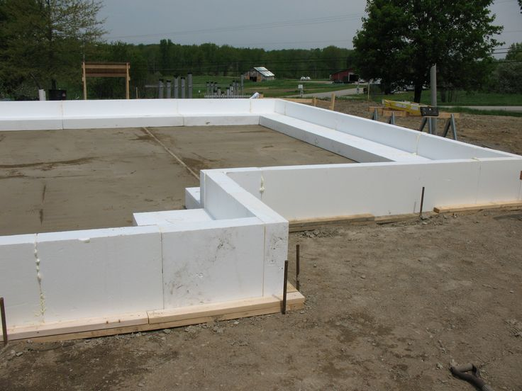 49 best images about foundations on pinterest steel for Slab on grade foundation cost