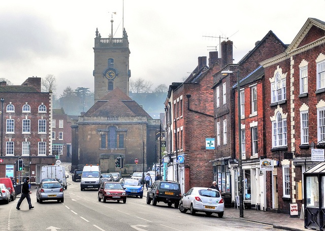 Bewdley town centre by Baz Richardson, via Flickr
