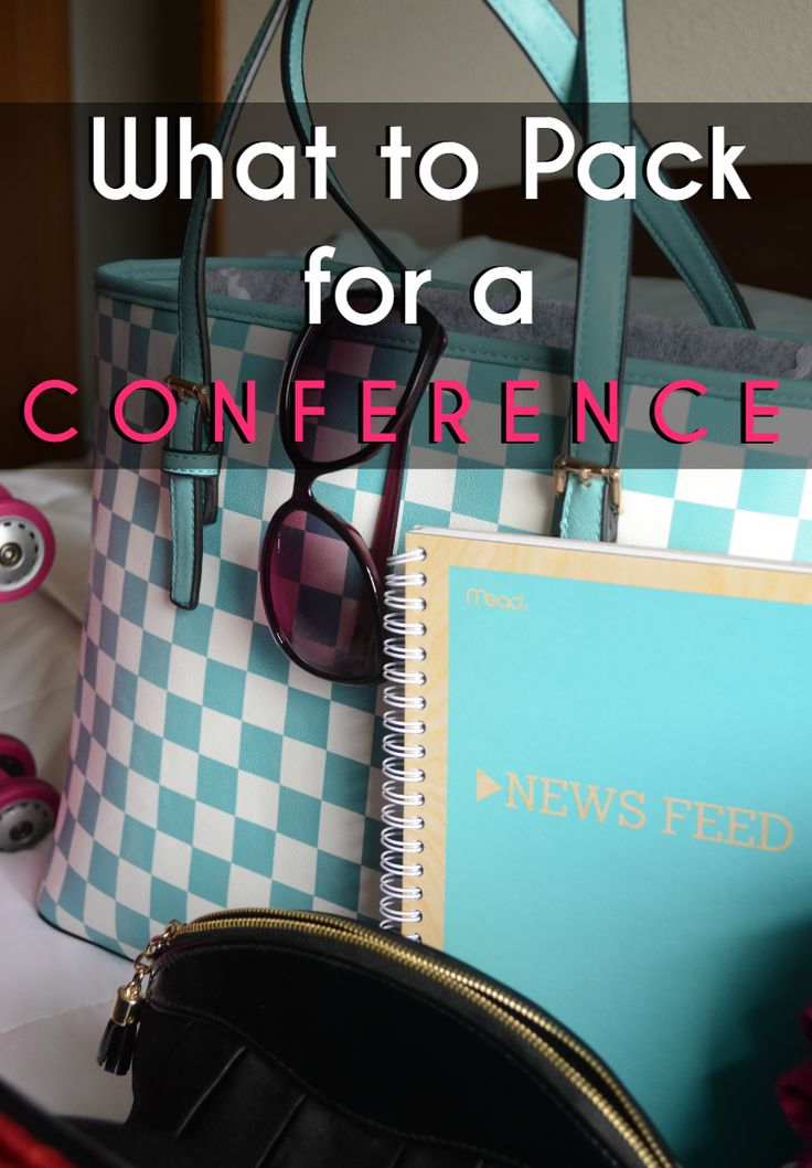 Here is what to pack for a conference when traveling abroad to bring home the knowledge.