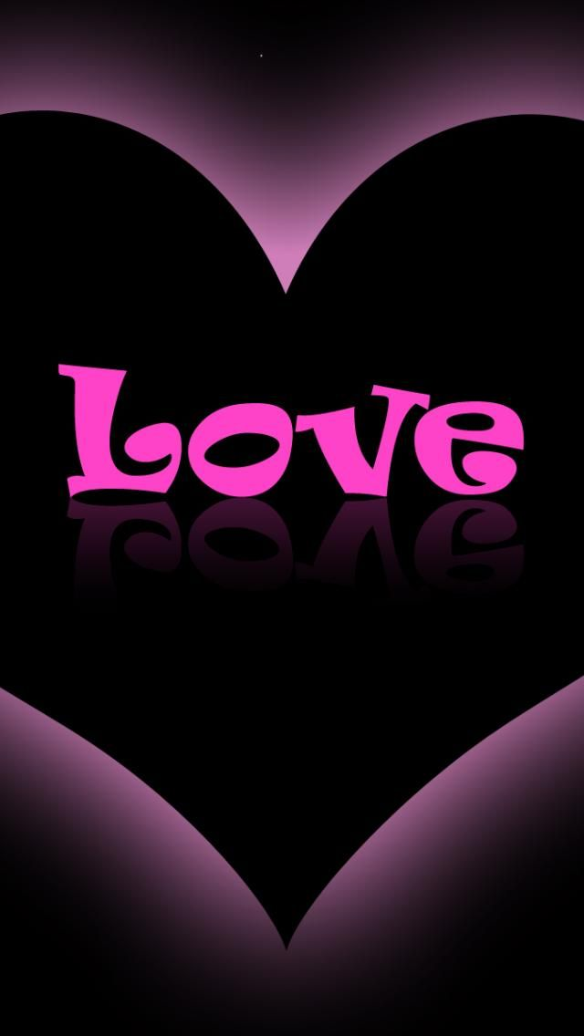 pink iphone wallpaper love purple pink heart jpg