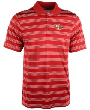 Nike Men's San Francisco 49ers Preseason Polo Shirt - Red/Gold S