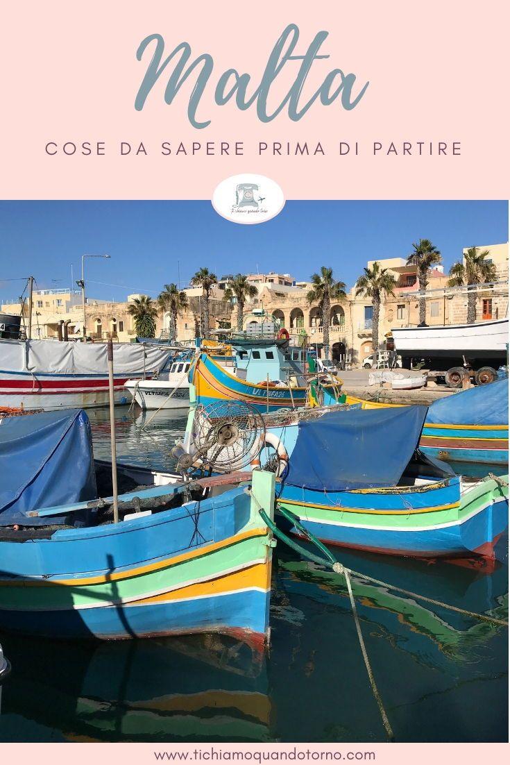 Organizzare un viaggio a Malta: consigli utili | bucket list ...