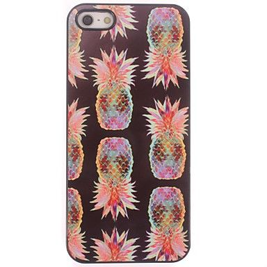 ananas utforming aluminium hard case for iphone 5/5s – NOK kr. 33