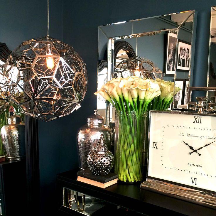 Layers of textured chrome and nickel #cafelightingandliving #interiorsandhome #livingroom #interiors #instainteriors #interiorstyling