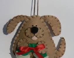 Картинки по запросу felt dog ornaments