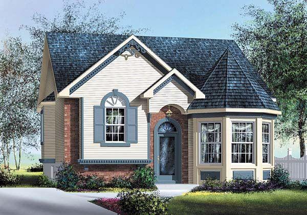 Victorian House Plan 49563