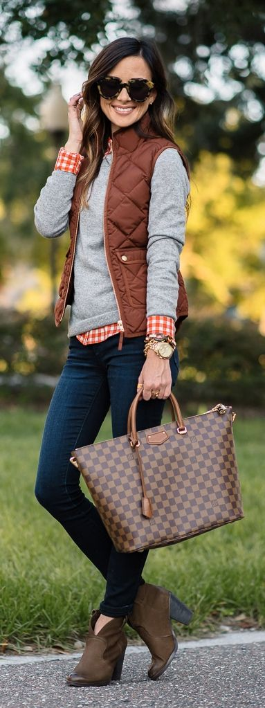 Fall preppy look