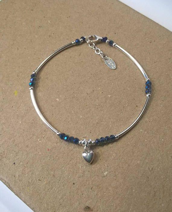 95d150cbb Yana Cloé bracelet quarter ring Silver 925 swarovski crystal ...