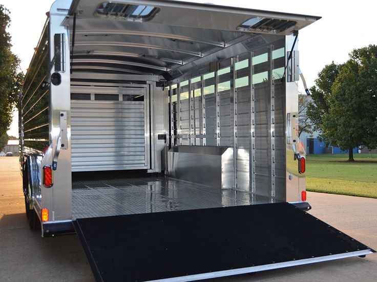 17 best ideas about stock trailer travel trailers 4 star 26 stock trailer w full width 48 tall rear