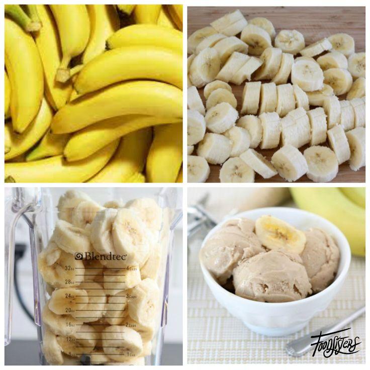 Soms moet je het leven niet te ingewikkeld maken. Dit heerlijke ijs is zo makkelijk, lekker, snel, zonder ijsmachine en met 1ingrediënt. Je krijgt een heerlijk romig ijs met enkel banaan. Zo maak je het: Pel de bananen en sijd deze in stukken en vries ze in (ongeveer 2 uur). Anderhalf tot twee bananen per …