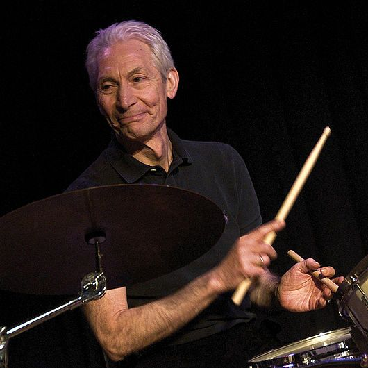 Charlie Watts. Drummer. Born in University College Hospital. He was given his first drum kit in 1955. In 1961 he met Alexis Korner and joined his band 'Blues Incorporated'. He was introduced to Brian Jones, Mick Jagger and Keith Richards in 1962 and joined The Rolling Stones group the following year.  Music Heritage have provided an interactive map of the Rolling Stones in London.