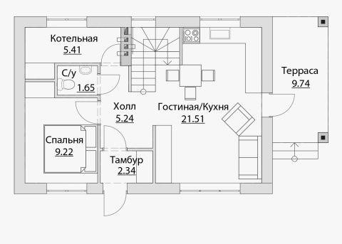 19 best Planos images on Pinterest Floor plans, House floor plans - plan maison bioclimatique gratuit