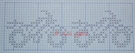 Her har dere to tegnede mønsterdiagram som passer inn i Mariusmønster, alt fra genser til lue osv. Motorsyklene går over 27 masker, så du m...
